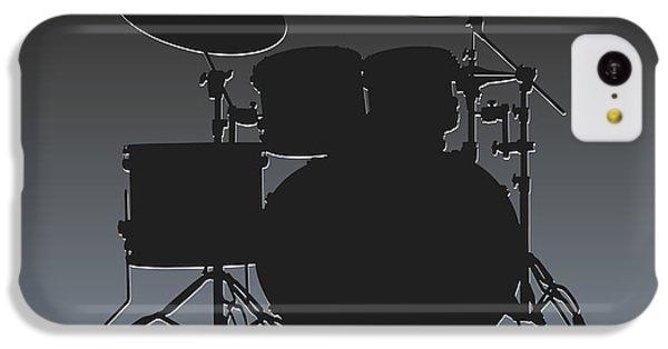 Oakland Raiders Drum Set IPhone 5c Case by Joe Hamilton