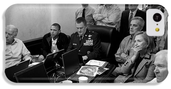 Obama In White House Situation Room IPhone 5c Case