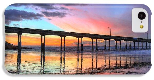 Ocean Beach Sunset IPhone 5c Case