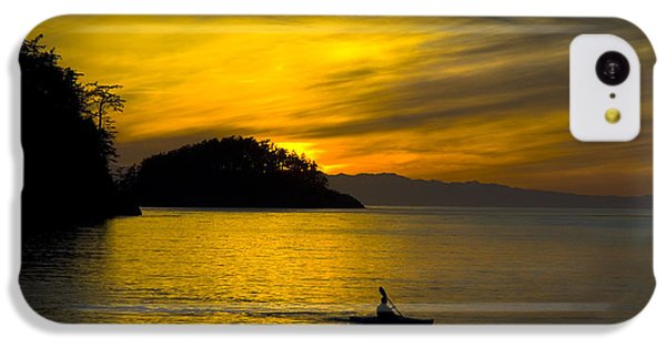 Ocean Sunset At Rosario Strait IPhone 5c Case