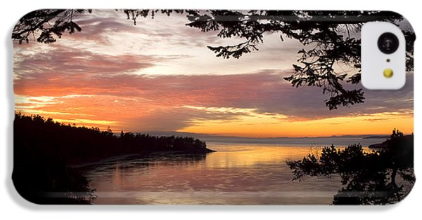 Ocean Sunset Deception Pass IPhone 5c Case