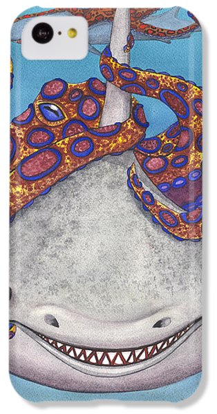 Octopied IPhone 5c Case by Catherine G McElroy