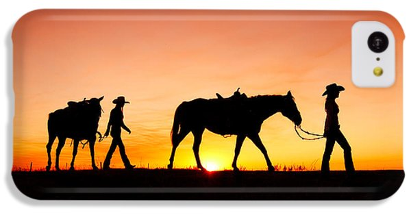 Off To The Barn IPhone 5c Case