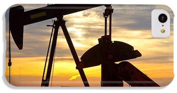 Oil Pump Sunrise IPhone 5c Case