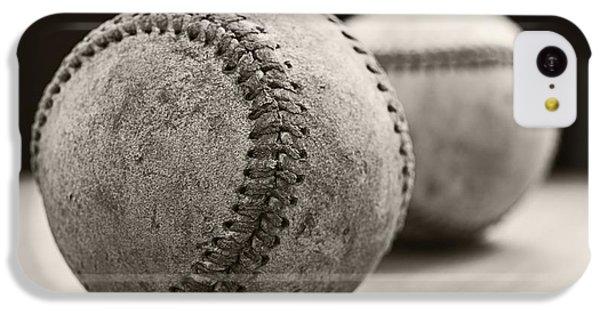 Old Baseballs IPhone 5c Case by Edward Fielding