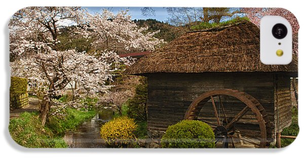 Old Cherry Blossom Water Mill IPhone 5c Case