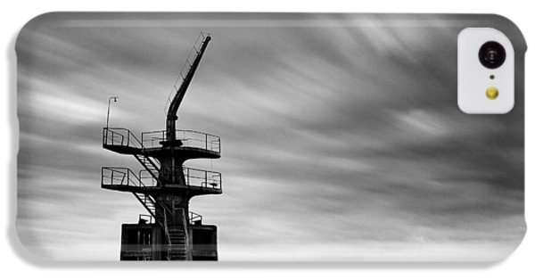 Old Crane IPhone 5c Case by Dave Bowman