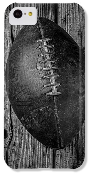 Old Football IPhone 5c Case by Garry Gay