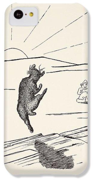 Old Man Kangaroo IPhone 5c Case by Rudyard Kipling