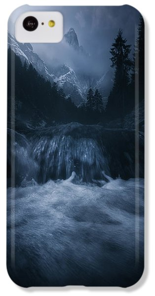 Flow iPhone 5c Case - Old Style Dolomites by Luca Rebustini
