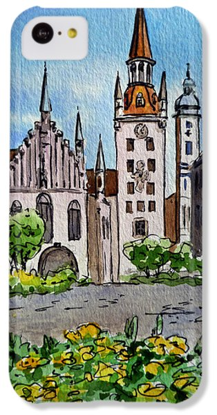 Old Town Hall Munich Germany IPhone 5c Case