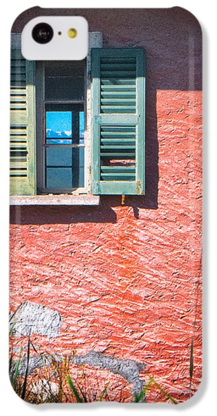 IPhone 5c Case featuring the photograph Old Window With Reflection by Silvia Ganora
