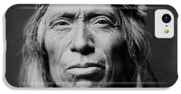 Portraits iPhone 5c Case - Old Zuni Man Circa 1903 by Aged Pixel