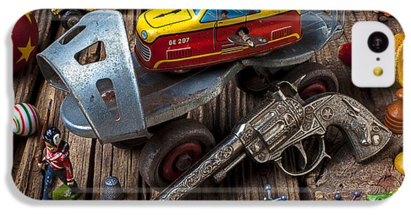 Older Roller Skate And Toys IPhone 5c Case by Garry Gay