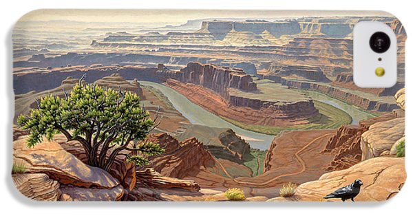 Raven iPhone 5c Case - On The Rim-dead Horse Point by Paul Krapf