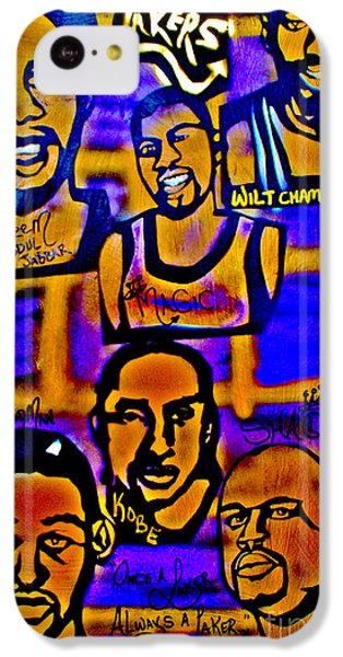 Once A Laker... IPhone 5c Case by Tony B Conscious