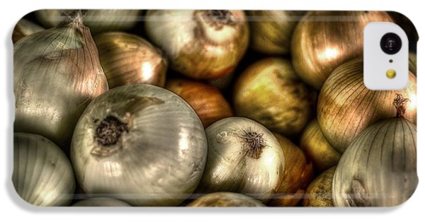 Onions IPhone 5c Case by David Morefield