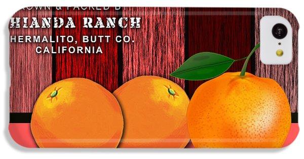 Orange Farm IPhone 5c Case