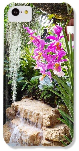 Orchid Garden IPhone 5c Case by Carey Chen