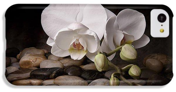 Orchid iPhone 5c Case - Orchid - Sensuous Virtue by Tom Mc Nemar