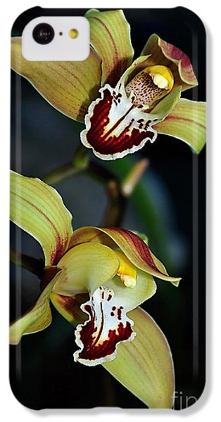 Orchids In The Evening IPhone 5c Case by Kaye Menner