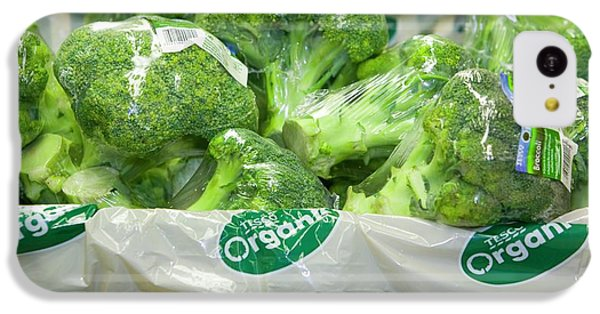 Organic Broccoli For Sale IPhone 5c Case by Ashley Cooper