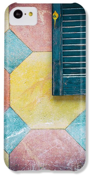 Ornate Wall With Shutter IPhone 5c Case by Silvia Ganora