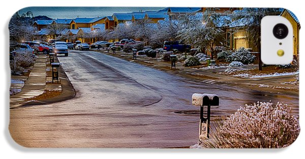 Oro Valley Winter No.54 IPhone 5c Case by Mark Myhaver
