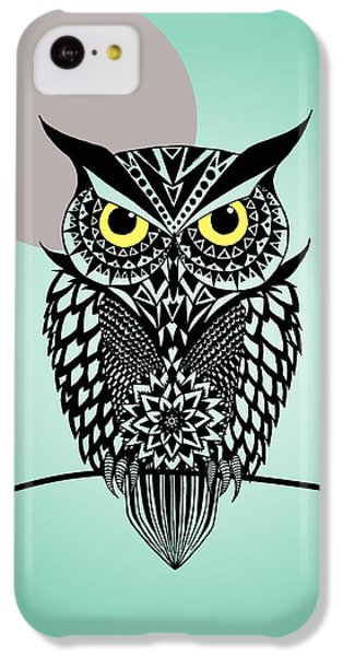 Owl 5 IPhone 5c Case by Mark Ashkenazi
