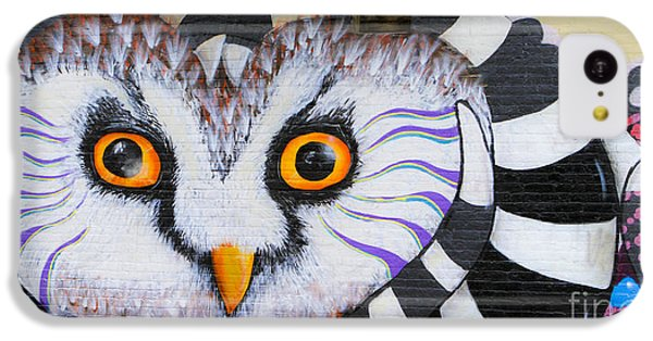 IPhone 5c Case featuring the photograph Owl Mural by Ricky L Jones