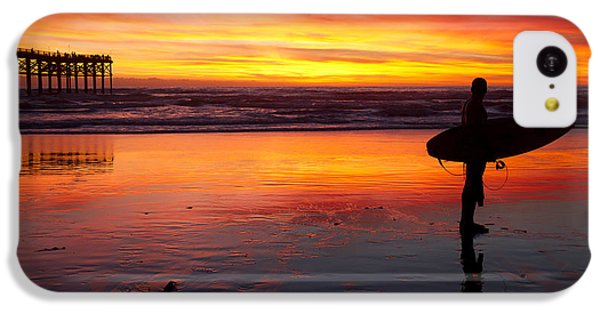Pacific Beach Was On Fire Tonight IPhone 5c Case