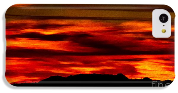 IPhone 5c Case featuring the photograph Painted Sky 34 by Mark Myhaver