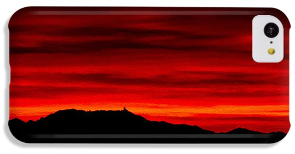 IPhone 5c Case featuring the photograph Painted Sky 36 by Mark Myhaver