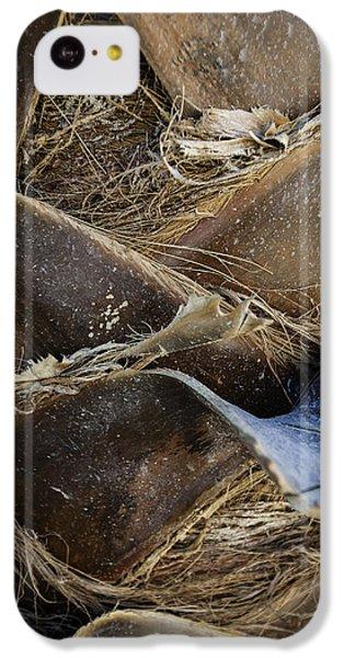Palm Tree Bark IPhone 5c Case