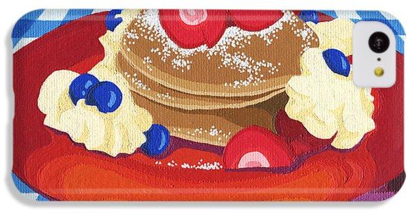 Pancakes Week 10 IPhone 5c Case