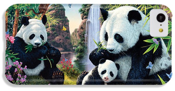 Panda Valley IPhone 5c Case by Steve Read
