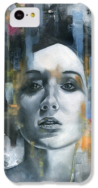 Portraits iPhone 5c Case - Pandora by Patricia Ariel