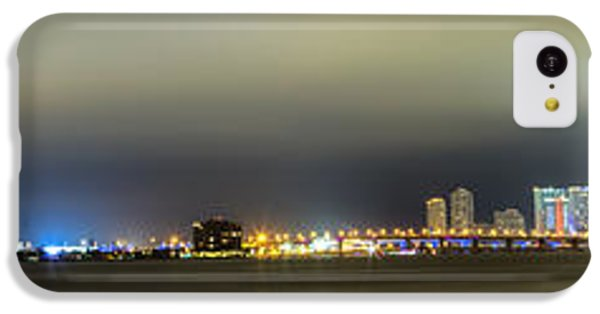 Panorama Of Biscayne Bay In Miami Florida IPhone 5c Case