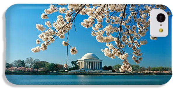 Panoramic View Of Jefferson Memorial IPhone 5c Case by Panoramic Images