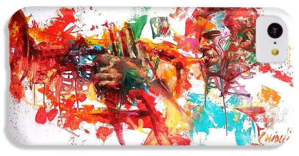 Trumpet iPhone 5c Case - Paolo Fresu by Massimo Chioccia