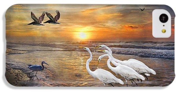 Paradise Dreamland  IPhone 5c Case by Betsy Knapp