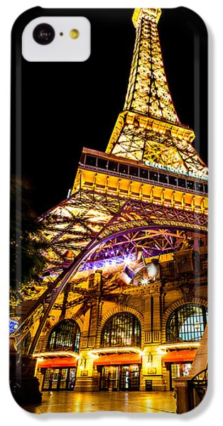 Paris Under The Tower IPhone 5c Case by Az Jackson