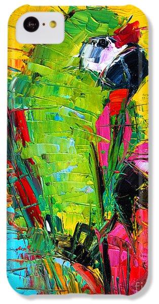 Parrot Lovers IPhone 5c Case by Mona Edulesco