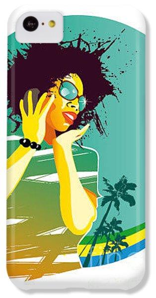 Sound iPhone 5c Case - Party Brasil by Visualrocks