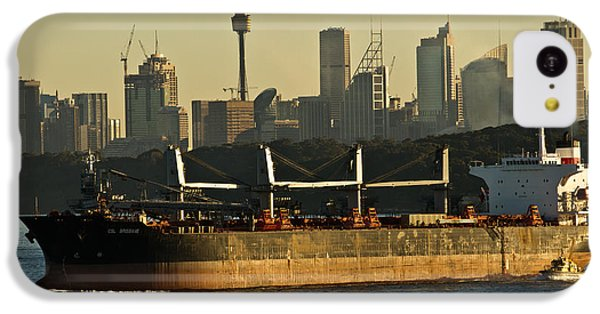 IPhone 5c Case featuring the photograph Passing Sydney In The Sunset by Miroslava Jurcik