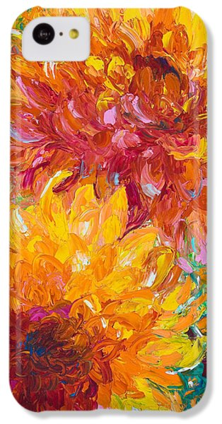 Floral iPhone 5c Case - Passion by Talya Johnson