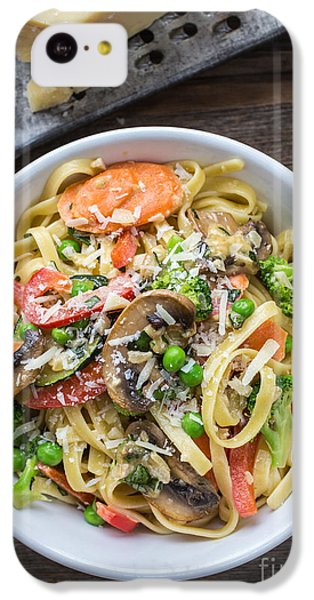 Pasta Primavera Dish IPhone 5c Case