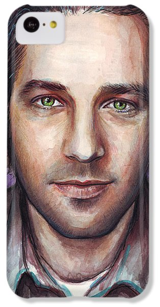 Paul Rudd Portrait IPhone 5c Case