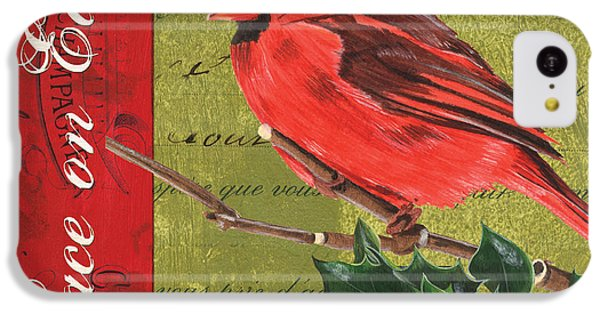 Cardinal iPhone 5c Case - Peace On Earth 2 by Debbie DeWitt