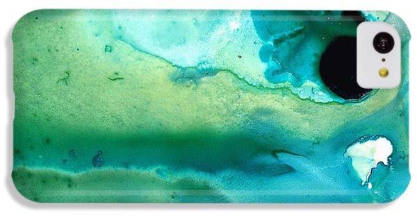 Largemouth Bass iPhone 5c Case - Peaceful Understanding by Sharon Cummings